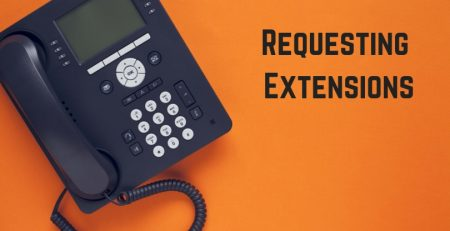 request extension